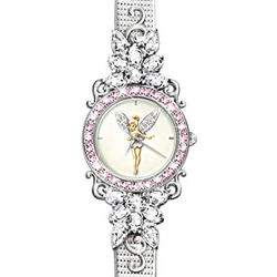 "Tinker Bell's ""Reflections of Time"" Crystal Watch"