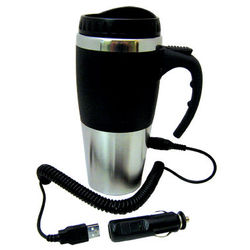 USB and 12V Heated Mug