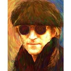 John Lennon Oil Painting Print