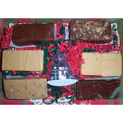 3 Pounds of Fresh Fudge Gift Basket
