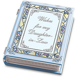 Wishes For My Daughter-In-Law Music Box
