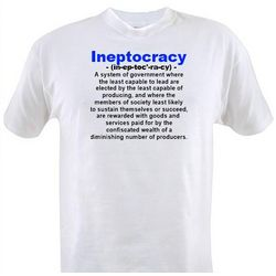 Ineptocracy Political T-Shirt