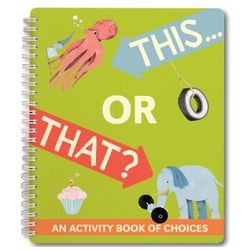 This Or That Journal Activity Book