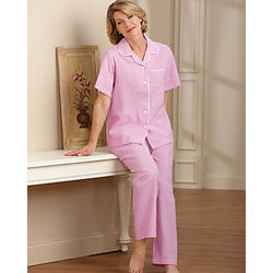 Women's Seersucker Pajamas