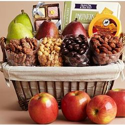 Special Treasures Gourmet Treat Gift Basket
