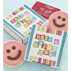 Have a Happy Day Cookie Card