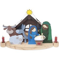 Paint-Your-Own Nativity Scene Kit