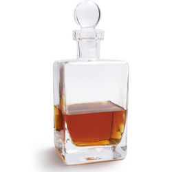 Classic Glass Whiskey Decanter