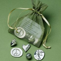 Bag of Inspirational Pewter Charms