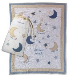 Moon & Star Quilt & Bag Set
