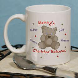 Cherished Treasures Personalized Coffee Mug