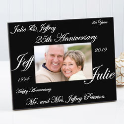 Anniversary Wishes Personalized Frame