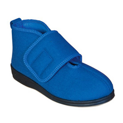 Women's Wide Velcro® Boot Slipper