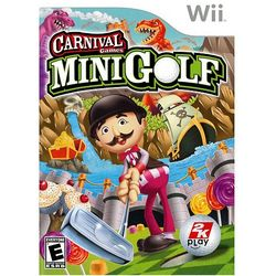 Nintendo Wii Carnival Games Mini Golf