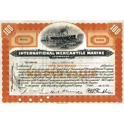 Titanic Stock - International Mercantile Marine Company