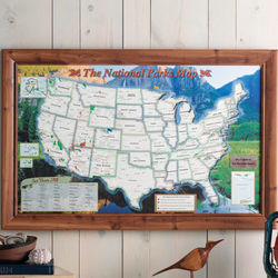 Personalized National Parks Traveler Map