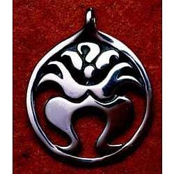 Sterling Silver Kali Ma Pendant