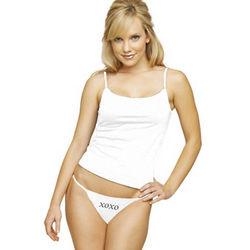 Personalized Thong Bikini Panties