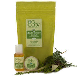 Organic Baby Breathe Free Healthy Bath Day Sampler