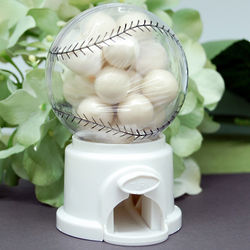Mini Baseball Gumball Machine