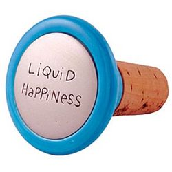 Liquid Happiness Wine Stopper