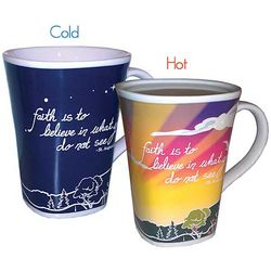 Faith Color Changing Mug