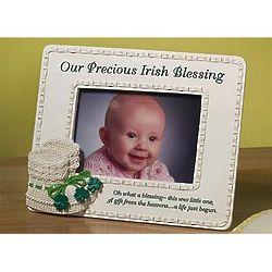 Irish Baby Photo Frame