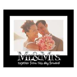 Mr. And Mrs. Expressions Matted Frame
