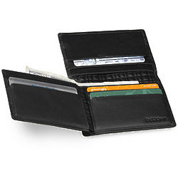 Leather RFID L Fold Wallet