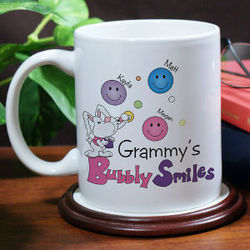 Bubbly Smiles Personalized Coffee Mug