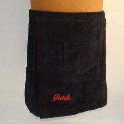 Men's Personalized Terry Bath Wrap