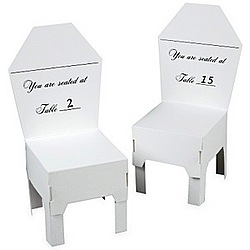 Chair Table Number Place Card Holders