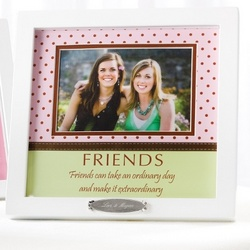 Friends Polka Dot Frame