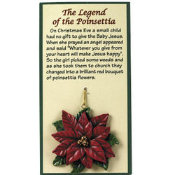 """Legend of The Poinsettia"" Ornaments"