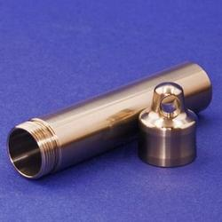 Engravable Titanium Travel Vault