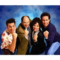 Seinfeld Oil Painting Print
