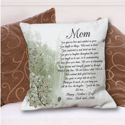 Personalized To My Mom Throw Pillow