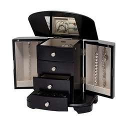 Upright Jewelry Box in Java Finish