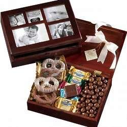 Holiday Photo Frame Chocolate Box