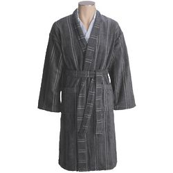 Medium and Large Charcoal Christy England 1850 Odyssey Robe