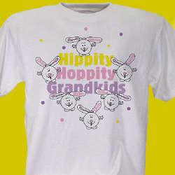Personalized Hippity Hoppity T-Shirt