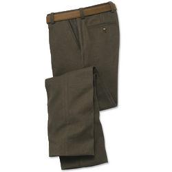 Men's Cotton-Herringbone Pants