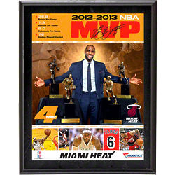 LeBron James Sublimated MVP Plaque