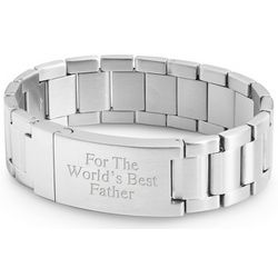 Stainless Steel Wrist Watch Band Style ID Bracelet