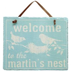 Personalized Welcome To Our Nest Slate