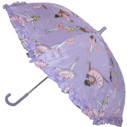Children's Dancing Ballerina Stick Umbrella