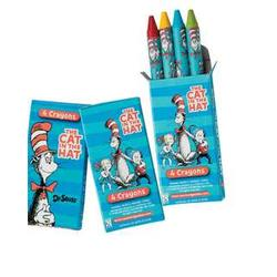 72 Boxes of 4-Color Dr. Seuss Crayons