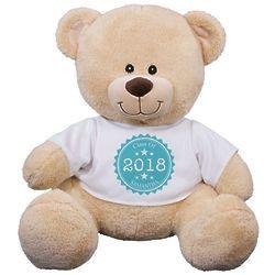 Graduate's Personalized Class of Teddy Bear