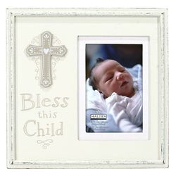 Bless This Child Sacraments Picture Frame
