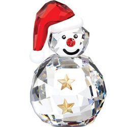 Swarovski Crystal Rocking Snowman